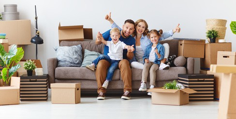 Familie Hausverkauf