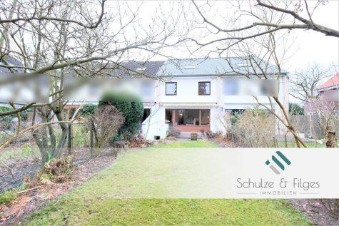 Ruhe pur! Reihenhaus in idyllischer Waldrandlage., 22359 Hamburg / Volksdorf, Reihenmittelhaus
