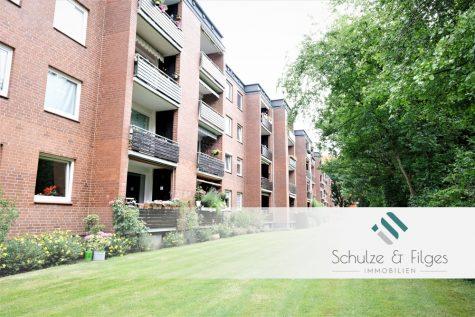 Großzügige 3-Zimmer-Wohnung mit Loggia in ruhiger Sackgassenlage, 25421 Pinneberg, Etagenwohnung