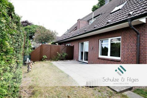 Großzügige Erdgeschosswohnung mit Terrasse: ca. 60 m² Wohnfläche + ca. 35 m² Nutzfläche, 25474 Hasloh, Erdgeschosswohnung