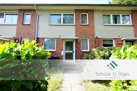 Kleines Reihenmittelhaus mit schönem Garten, 22145 Hamburg / Rahlstedt, Reihenmittelhaus