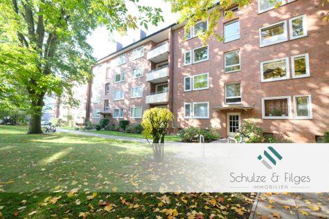 3 Zimmer-Wohnung mit Balkon in ruhiger Wohnlage, 20535 Hamburg / Hamm-Nord, Etagenwohnung