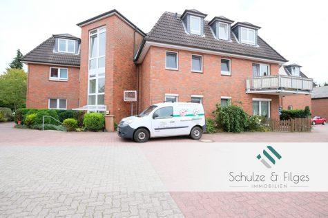 Vermietete Wohnung mit Balkon und Stellplatz, 25474 Hasloh, Dachgeschosswohnung